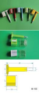 China Sellos de la seguridad del envase/sello de encargo del perno del envase con código de barras impreso on sale