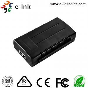 China Single-Port 10/100/1000Mbps 120W 802.3bt Ultra Power over Ethernet Injectors on sale