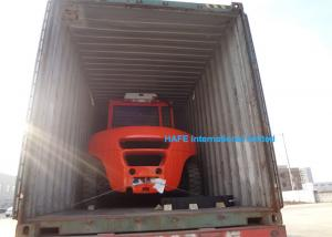 China Compact Size Warehouse Forklift , All Terrain Forklift With Isuzu C240PKJ-30 Engine on sale