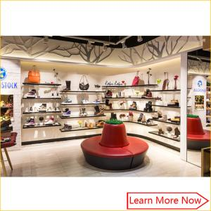 01a6e3bb4ab7 Quality Fashion Designs Wood Shoe Rack Shelves Showcase with lighting  decorated for sale