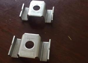 China Galvanized Steel Bar Grating Clips VC Coated Feature OEM Service on sale