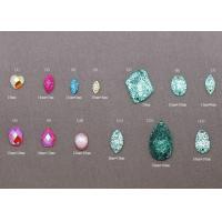 China Heart, Oval Shape Loose Plastic, Acrylic, Resin bead Flat Back Gems on sale