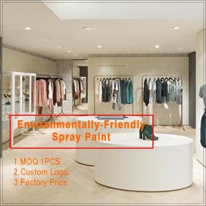 China Most Popular Modern Wooden Used Clothing Store Fixture on sale