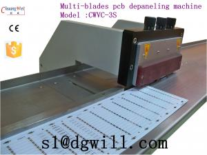 China V-cut PCB Electrostatic Separator High Speed Steel With Multi-blade on sale