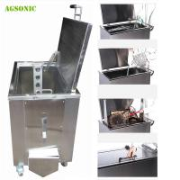China Restaurant Soak Tank168L For Oven Pan Cleaning Soaking Tank Cleaning Gourmets on sale