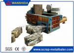 5 ton / h Capacity Industrial Scrap Metal Baler Compactor For Waste Aluminum Copper Steel