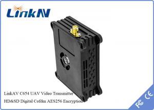 China UAV / UAS Digital Video Sender COFDM Transmitter Law Enforcement Equipment on sale