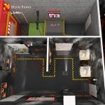 Amusement Park Equipments 9D VR Game Simulator Machine Fire Safety Institute