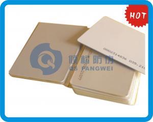 China Tarjeta plástica del PVC de CMYK que imprime la serigrafía de Smart Card para el tráfico on sale