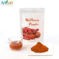 China Healthy Orange Raw Freeze Dried Fruit Powder , Goji Juice Powder By Polysaccharides on sale