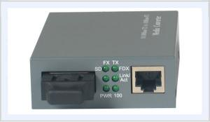 China Single Mode Fast Ethernet Media Converter FC SC Port With 20-120km Distance on sale