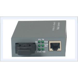 China Single Mode Fast Ethernet Media Converter FC SC Port With 20-120km Distance on sale