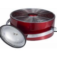 Small Electric Retro Metal Fan Air Circulation Adjustable Tilt Brushed Copper
