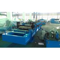 High Speed 0 - 25m / min Corrugated Roll Forming Machine Fly Cutting No Stop