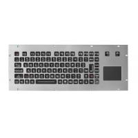 China Rugged Marine Console PS2 USB Wired EMC Metal Keyboard on sale