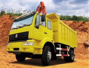 China Price?Favorable SINOTRUK HOWO 4x2 Dumper Truck on sale