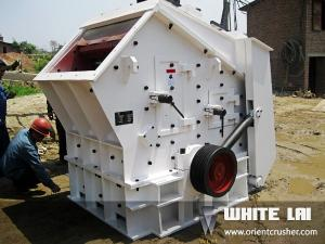 China Hartz Mark Rotary Impact Crusher White Three Steps With Hydraulic Adjustment on sale