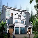 Modular Prefab Tiny Homes / Small Pre Built Tiny House Light Steel Frame