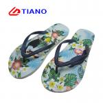 Comfy Ladies Four Color Printing  Eva Sole Flip Flops