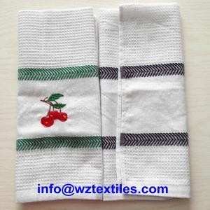 China Cheap Cotton Waffle Weave Dish Cloth on sale