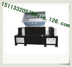 China Low Cost Scrapped and Waste Tire Recycling Shredder on sale