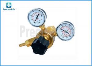 China Female 0.96''-14 Argon Gas Welding Regulator 2 Gauge Single Stage on sale