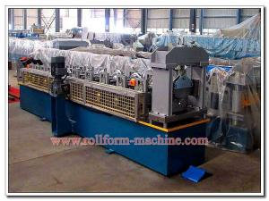 China Aluminium & Steel Roofing Ridge Cap Panel Manufacturing Equipment with Automatic Electric Metal Cutter on sale
