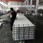 10.35 meters 30mm PVC eps sandwich roof panels used for fast asemble warehouse