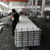 China 10.35 meters 30mm PVC eps sandwich roof panels used for fast asemble warehouse on sale