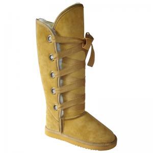 China Ladies′sheepskin Belt Boots (AL12-031) on sale