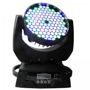 China Wedding DJ Moving Head Stage Lights , 108x3w LED Mini Wash Moving Head on sale