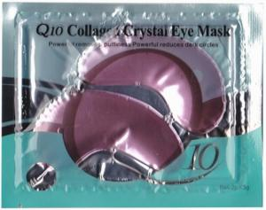 China Red Wine Q10 Collagen Crystal Eye Mask , Vitamin E Grape Seed Plant Extract on sale