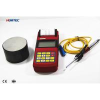High Precision Portable metal hardness tester with Printer and 3 Inch LCD or LED Display