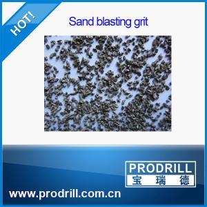 China Granite cutting angular steel grit g40 on sale