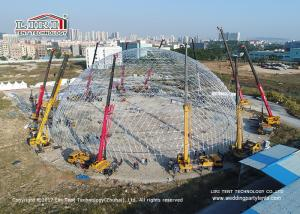 China Huge  Geodestic Tent  Event Outdoor Party Tents For With 60 Meter Diameter on sale