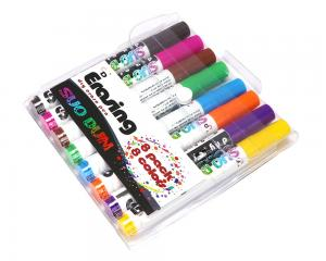 China Assorted Colored Dry Erase Board Markers Low Odor Comfortable Grip on sale