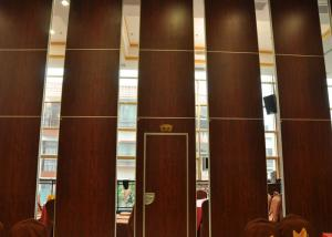 China Folding Door Movable Partition Walls ,  Vinyl Partition Wall For Meeting Room on sale
