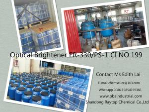 China TOP 4 China factory low price high quality Fluorescent brightener ER-330 PS-1 ERN C.I 199 CAS NO 13001-39-3 on sale