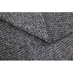 China Polyester Acrylic Wool Blended Fabrics , Sheepskin Fleece Jacket Faux Fur Cloth on sale