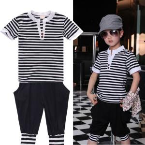 Free Sample New Fashion 100 Cotton Newborn Baby Clothing Unisex