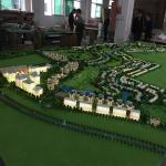 New design architectural villa 3d rendering scale model maker in China