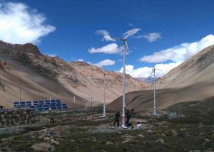 China Household 10kw Off Grid Wind Generator , Personal Windmill Turbine With Hybrid Renewable Power supplier