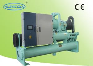 China Commercial Water Cooled Air Conditioning Units , Shell And Tube Type on sale