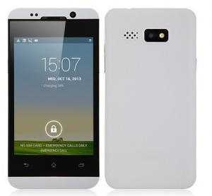 China Feiteng HTM H10 Phone With MTK6572 Android 4.2 Dual Core 1.2GHz WiFi FM 4.0 Inch Capacitiv on sale
