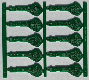 China 10 layer pcb 1.6mm thickness High Density  Immpedance Gold for Security equipment on sale