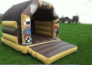 China Wonderful Wild West Inflatable Bouncer Custom Jump For Kids Party on sale