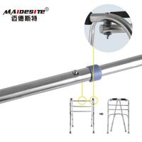 Stainless Steel Walker Disabled Walking Aids , Walking Frames For Disabled