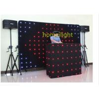 Flexible Dj Twinkling Flexible LED Video Curtain RGB For Festival And Concert