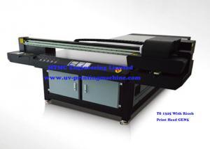 China CMYK Flatbed Wood UV Printer House Decoration Use 1300mm x 2380mm on sale