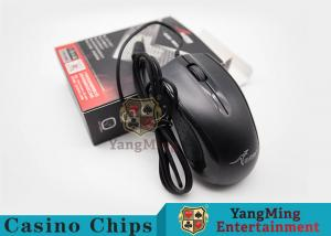China Electronic Baccarat Gambling Systems Casino Optical Mute Wired Gaming Mouse on sale